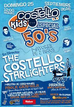 COSTELLO KIDS ESPECIAL 50'S R
