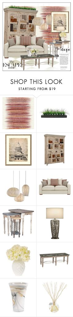 """""""Artefacts & Neutrals"""" by frenchfriesblackmg ❤ liked on Polyvore featuring interior, interiors, interior design, home, home decor, interior decorating, Élitis, Vintage, Universal Lighting and Decor and Arturo Alvarez"""