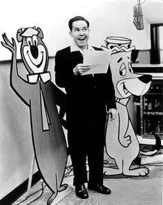 Daws Butler (1916 - 1988)Cartoon Voice Actor. He was the voice of Beany on the local LA puppet show of Beany and Cecil on KTLA, Los Angeles, in the early 50s.  He was the voice of many Hanna-Barbara Cartoon characters,including Yogi Bear, Huckleberry Hound, Quick Draw McGraw, Snagglepuss, Augie Doggie, Elroy Jetson and Henry Orbit on the Jetsons, Quisp, Aesop's son, Cap'n Crunch, Hokey Wolf, Mr. Jinx and Dixie of Pixie and Dixie, and Chilly Willy.
