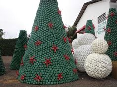 Artesanato Reciclado - Natal | Artesanato - Cultura Mix