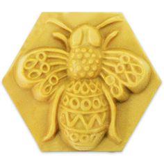 Milky Way™ Filigree Bee Soap Mold (MW 01) - Milky Way Molds