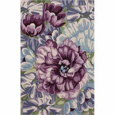 Handmade Floral Multi Wool Rug
