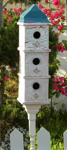 Birdhouse apartments!