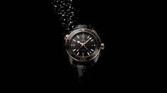 """OMEGA Unveils the Full Range of Seamaster Planet Ocean's """"Deep Black"""" Collection: The watches come in four editions, Sedna™ gold, blue, red and black. Omega Planet Ocean, Omega Seamaster Planet Ocean, Ocean Deep, Black Edition, Omega Watch, Mens Fashion, Watches, Red Black, Gold"""