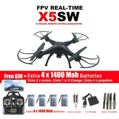 check price syma x5sw x5sw 1 wifi drone quadcopter with fpv camera headless 6 axis real time rc #helicopter #models