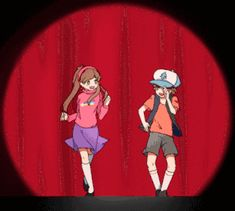 Gravity Falls - Dipper and Mabel Pines, Mabel and Bipper Pines, Dipper and Mabel Gleeful (Reverse Falls) Gravity Falls Anime, Reverse Gravity Falls, Gravity Falls Comics, Reverse Falls, Gravity Falls Dipper, Gravity Falls Book, Watch Gravity, Gravity Falls Bill Cipher, Dipper Und Mabel