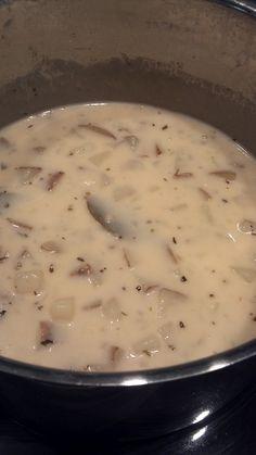 French Potato Soup