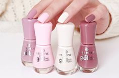 Nail Polish Winter Nails - Nail polish winter & nagellack winter & vernis à ongles hiver & invierno esmalte d - Essence Gel Nail Polish, Natural Nail Polish, Nail Polish Colors, Nails Polish, Natural Nails, Gel Nails, Essence Makeup, Nagel Gel, Nude Nails