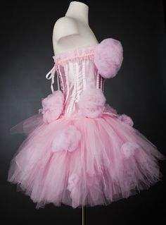 Custom order pink cotton candy dress Katy Perry inspired