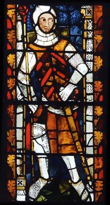 """Gilbert """"The Red"""" de Clare, 6th Earl of Hertford, 7th Earl of Gloucester (124 3- 1295) Known as """"The Red"""" because of his red hair and fiery temper in battle. Married to Joan of Acre, daughter of King Edward I """"Longshanks"""" (My 21st Great Grandfather)"""