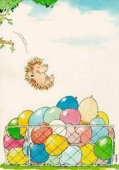 Funny relationship images people 23 New Ideas Ballon Illustration, Hedgehog Illustration, Cute Illustration, Funny Happy Birthday Meme, Happy Birthday Cards, Funny Hedgehog, Funny Couples Memes, Relationship Images, Relationships