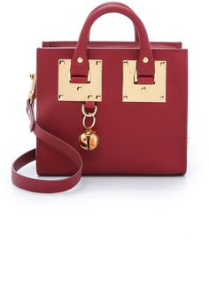Sophie Hulme Box Tote Bag