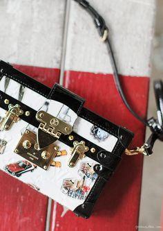 Louis Vuitton Petit Melle Stickers bag