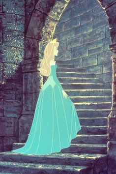 Sleeping Beauty walking to spinning wheel. This was the most terrifying moment in movie history to my 5 year old mind!