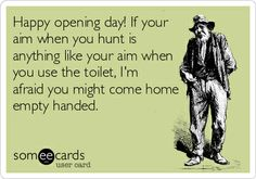 Hunting. :)