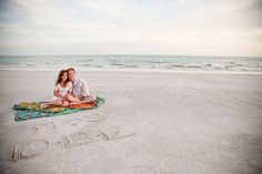 we were SO excited when matt & sarah asked us to shoot their engagements on anna maria island in florida! they are so cute and sweet, and the island is phenomenally beautiful. what an experien…