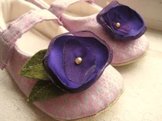 Baby Shoes Custom Designed Just for You by GoodLittleThings, $35.00