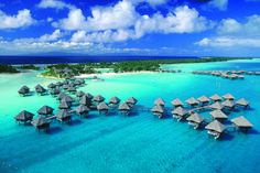 Bora Bora, an island of 8K, was actually misunderstood from Pora Pora, which means 'First Born' in Tahitian.