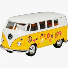 Furgoneta hippie Volkswagen | El Regalo Original