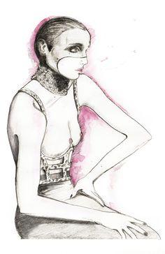 natalia jhete #fashion illustration
