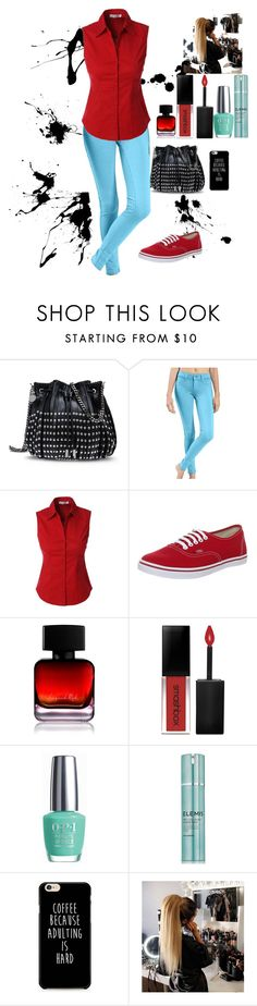 """""""148"""" by smile-749 ❤ liked on Polyvore featuring STELLA McCARTNEY, LE3NO, Vans, The Collection by Phuong Dang, Smashbox, OPI and Elemis"""