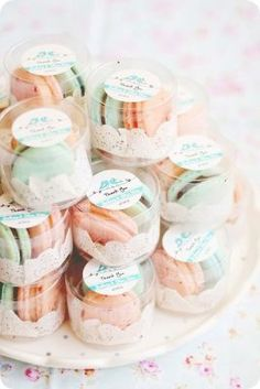 New Ideas For Bridal Shower Favors Macaroons Macaron Wedding Macaroon Wedding Favors, Elegant Wedding Favors, Diy Wedding, Wedding Gifts, Dream Wedding, Macaron Favors, Trendy Wedding, Wedding Ideas, Wedding Photos