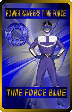 Time Force Blue by rangeranime on @DeviantArt