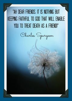 Charles Spurgeon quote from sermon 2285...More at http://beliefpics.christianpost.com/