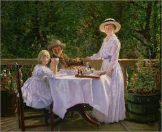 """Bild von Thomas Barrett - """"Summer Afternoon Tea"""""""