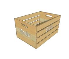 Ana White   Wood Crate Building Guide - DIY Projects