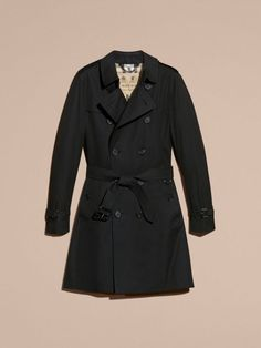 The Sandringham – Trench-coat Heritage long Noir | Burberry