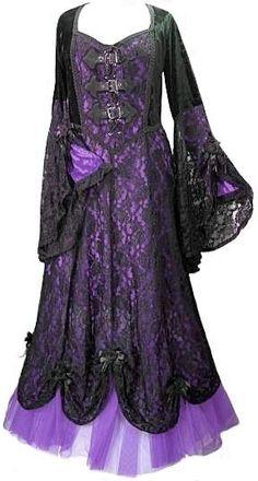 Banned Vintage Steampunk Victorian Gothic Kleid Maxikleid Ivy Pattern Samt