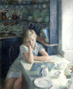 The Quiet Hour by Dod Procter (by BoFransson)