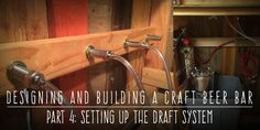 How to Build a Craft Beer Bar from Scratch. Building a Craft Beer Bar for Weddings: Setting Up the Draft System Craft Beer Wedding, Diy Wedding Food, Wedding Props, Wedding Shit, Wedding Ideas, Backyard Bar, Wedding Backyard, Craft Bier, Bar Set Up