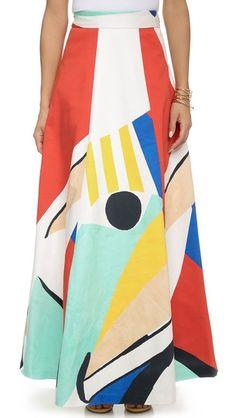 alice + olivia Bryn Full Skirt