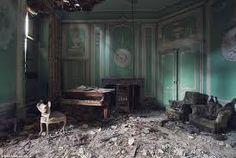 Image result for old abandoned living room