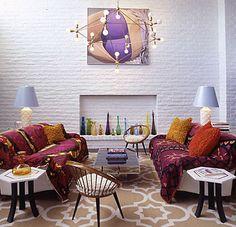 The Parker Palm Springs, decor by Jonathan Adler Parker Palm Springs, Palm Springs Style, Jonathan Adler, Home Interior, Interior Design, California Homes, Decoration, Boho Decor, Mid-century Modern