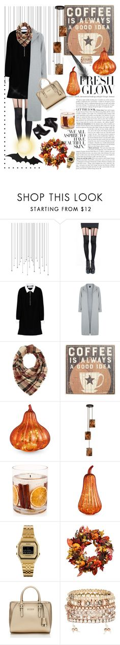 """""""🖌🗃 Halloween"""" by aycanyl ❤ liked on Polyvore featuring Pretty Polly, Victoria, Victoria Beckham, New Look, Charlotte Russe, Primitives By Kathy, Pierre Hardy, Improvements, Storm Furniture, Stoneglow and Casio"""