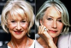 Helen Mirren Plastic Surgery - nope - looks after herself is all