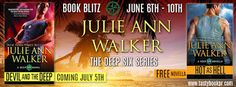 *Free Book Alert* Check out this #BookBlitz featuring, Hot as Hell by Julie Ann Walker! Learn more about the book and the author here!