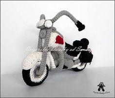 Originalne-Darceky / motorka HARLEY ... návod