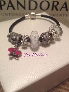 New Pandora orchid pendant. # 791554EN69