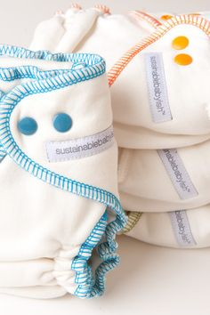 Overnight Bamboo Fleece Fitted Diapers - sloomb  - 1