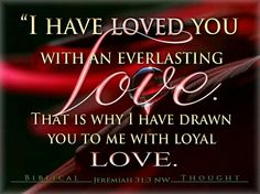 """Nothing Can """"Separate Us From God's Love """". Yes, Jehovah personally draws us toward his Son and the hope of eternal life.  Jehovah will continue to show loving-kindness, or loyal love, toward us only if we remain faithful to him.—2 Samuel 22:26 NW Stylianos Tzannis - Biblical Thought http://wol.jw.org/en/wol/dt/r1/lp-e/2014/9/3           w"""