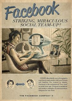 """Facebook Interaction in the """"ancient days' - love this content #facebook #content"""