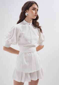 Summer Fashion Tips For Women Look Fashion, Korean Fashion, High Fashion, Fashion Beauty, Womens Fashion, Fashion Trends, Fashion Tips, Cute Dresses, Cute Outfits