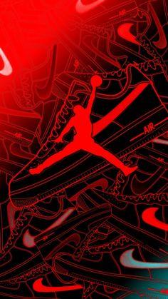 Glitch Wallpaper, Dark Wallpaper, Iphone Wallpaper, Cool Nike Wallpapers, Beautiful Wallpaper For Phone, Jordan Logo Wallpaper, Red Walls, Wall Papers, Optimus Prime
