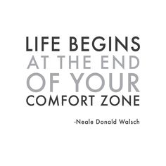 Wall Quotes Wall Decals - Comfort Zone