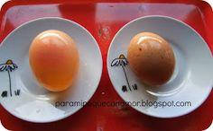 Como hacer un huevo de goma