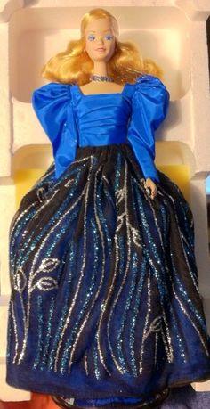 1986 Blue Rhapsody Barbie, BARBIE & FRIENDS NRFB ARCHIVES